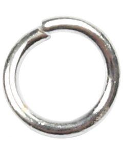 Välirengas, koko 4,4 mm, paksuus 0,7 mm, hopeanväriset, 500 kpl/ 1 pkk