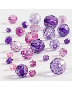Särmähelmet, koko 4-12 mm, aukon koko 1-2,5 mm, violetti, 45 g/ 1 pkk