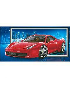 Diamond Dotz- timanttimaalaus, Ferrari, koko 40x50 cm, 1 pkk