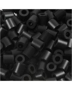 Putkihelmet, koko 5x5 mm, aukon koko 2,5 mm, medium, musta (32220), 6000 kpl/ 1 pkk