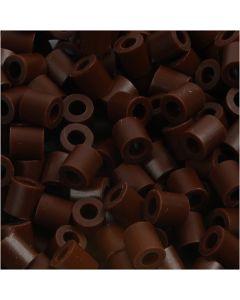 Putkihelmet, koko 5x5 mm, aukon koko 2,5 mm, medium, ruskea (32229), 1100 kpl/ 1 pkk