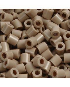 Putkihelmet, koko 5x5 mm, aukon koko 2,5 mm, medium, beige (32248), 6000 kpl/ 1 pkk