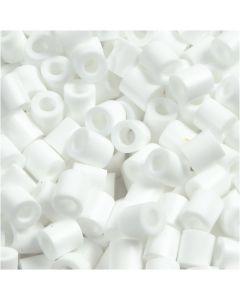 Putkihelmet, koko 5x5 mm, aukon koko 2,5 mm, medium, valkoinen (32221), 1100 kpl/ 1 pkk