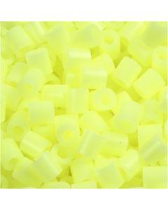 Putkihelmet, koko 5x5 mm, aukon koko 2,5 mm, medium, kelt.pastelli (32244), 6000 kpl/ 1 pkk