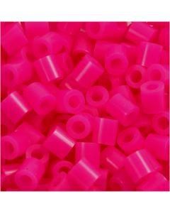 Putkihelmet, koko 5x5 mm, aukon koko 2,5 mm, medium, kirsikka (32258), 1100 kpl/ 1 pkk
