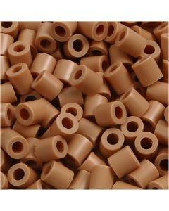 Putkihelmet, koko 5x5 mm, aukon koko 2,5 mm, medium, vaaleanrusk. (32260), 6000 kpl/ 1 pkk
