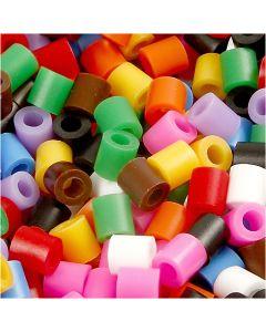 Putkihelmet, koko 5x5 mm, aukon koko 2,5 mm, medium, perusvärilajitelma, 6000 laj/ 1 pkk