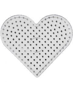 Putkihelmialusta, sydän, JUMBO, kuulto, 5 kpl/ 1 pkk