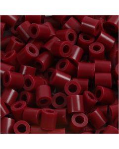 Fotohelmet, koko 5x5 mm, aukon koko 2,5 mm, viininpunainen (4), 1100 kpl/ 1 pkk