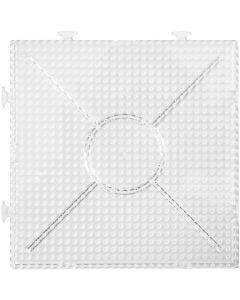 Putkihelmialusta, koko 15x15 cm, kuulto, 2 kpl/ 1 pkk