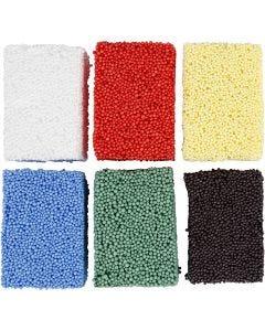 Soft Foam, perusvärilajitelma, 6x10 g/ 1 pkk