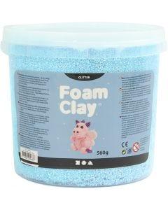 Foam Clay®, kimalle, vaaleansininen, 560 g/ 1 prk