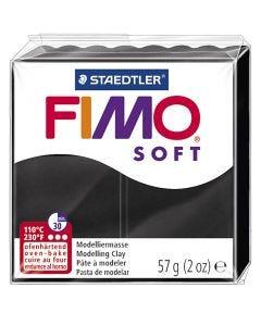 FIMO® Soft , musta, 57 g/ 1 pkk