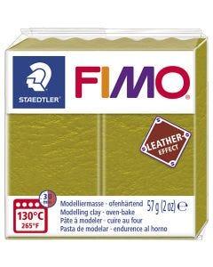 FIMO® Leather Effect, olive (519), 57 g/ 1 pkk