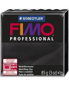 FIMO® Professional Clay , musta, 85 g/ 1 pkk