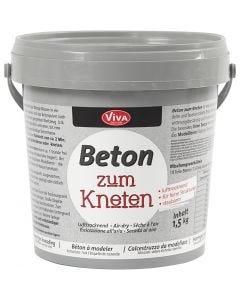Askartelubetonijauhe, harmaa, 1500 g/ 1 pkk
