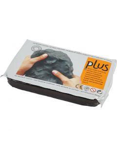 Itsekovettuva savi, musta, 1000 g/ 1 pkk