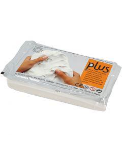 Itsekovettuva savi, valkoinen, 1000 g/ 1 pkk