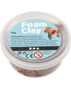 Foam Clay®, ruskea, 35 g/ 1 tb
