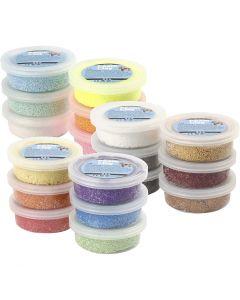 Foam Clay® Helmimassa, värilajitelma, 3x30 pkk/ 1 pkk