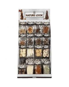 Luonnonkoristeet - materiaalipakkaus, Kork. 7400 mm, Lev: 4400 mm, 120 my/ 1 pkk