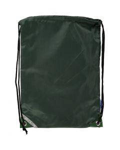 Nailonkassi, koko 31x44 cm, vihreä, 1 kpl