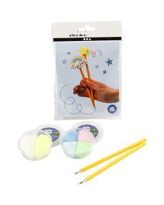 Mini luova pakkaus, kynät, 1 set