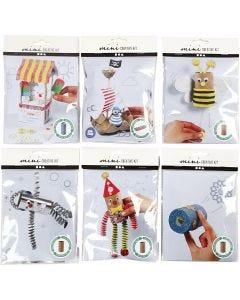 Mini-luovat pakkaukset, 6 set/ 1 pkk