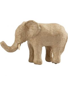 Elefantti, Kork. 9 cm, Pit. 13 cm, 1 kpl