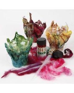 Hand made silk paper