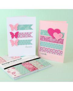 Helpot kortit kuviopapereista