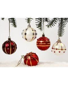 Omatekoiset joulukoristeet