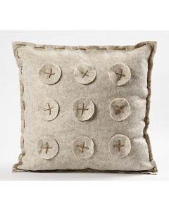 Tyynynpäällinen meleeratusta huovasta