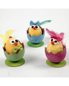 Pikkutiput munankuorissa