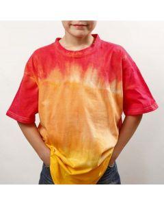 Dip'n Dye and Tie-Dye on a T-Shirt