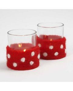 Suloiset kynttilälasit