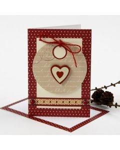 Hauska joulukortti pakettietiketistä
