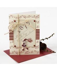 Joulukortti Vivi Gade design- sarjan tuotteista