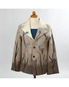 Huovutettu takki