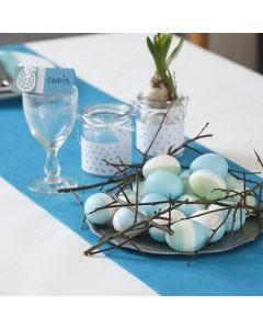 Silkkivärjätyt luonnonmunat