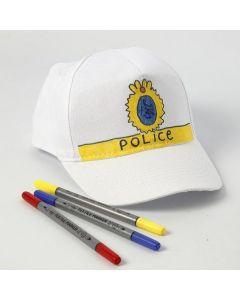 Lippalakki poliisitunnuksilla