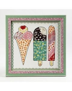Kuvioteippi jäätelöt