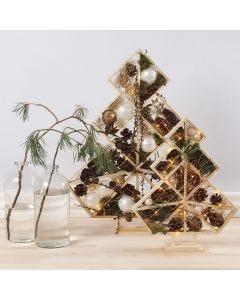 Koristeltu joulupuu