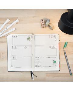 Bullet Journal- päiväkirjana