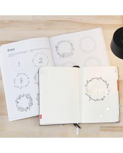 Bullet Journal tekeminen harjotuskirjan avulla