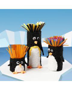Pingviinit pahviputkista