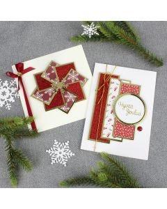 Modernit joulukortit