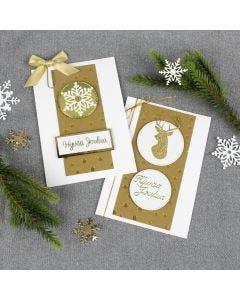 Kullanhohtoiset kortit nahkapaperista