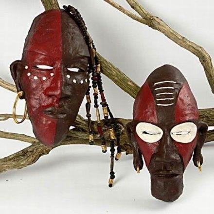 Afrikkalaiset heimonaamiot