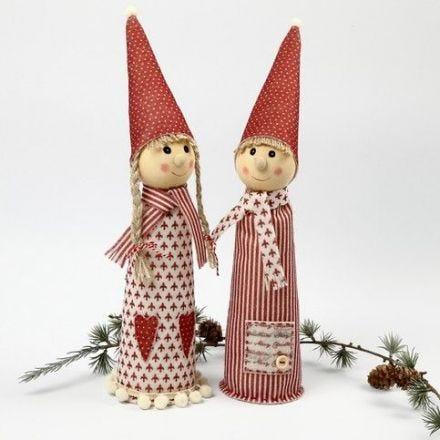 Joulutyttöset Vivi ja Gade